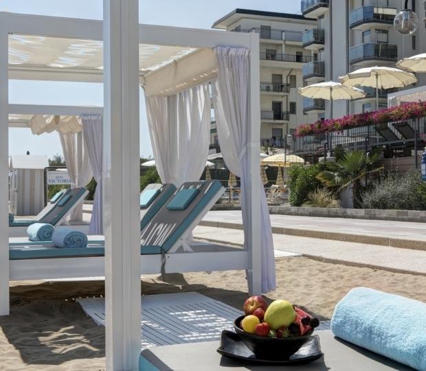 Area Vip Gazebo in Spiaggia